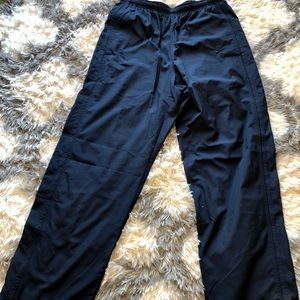 Nike Sweat Pants Embroidered Spellout Swoosh